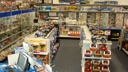 Hobbytown Interior