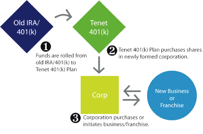 Tenet Financial Eligible Individual Account Plan (EIAP) structure