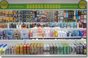 Dollar Store Services Interior