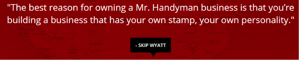 Mr. Handyman Testimonial