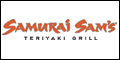 Logo for Samurai Sam's Teriyaki Grill