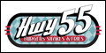Logo for Hwy 55 Burgers Shakes & Fries