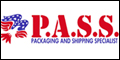 Logo for P.A.S.S. Packaging And Shipping Specialists