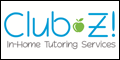 Logo for CLUB Z! IN-HOME TUTORING