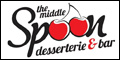 Logo for The Middle Spoon Dessertie & Bar