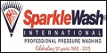Logo for Sparkle Wash Pressure Washing