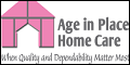 Logo for Age In Place Home Care