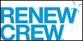 Logo for Renew Crew Pressure Washing Franchise