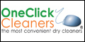 Logo for OneClick Cleaners