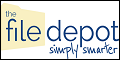 Logo for The File Depot