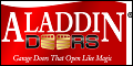 Logo for Aladdin Doors