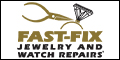Logo for Fast-Fix Jewelry and Watch Repairs