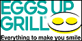 Logo for Eggs Up Grill